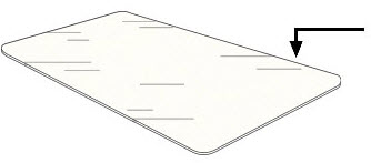 select a type of backing material