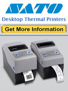 sato desktop printers