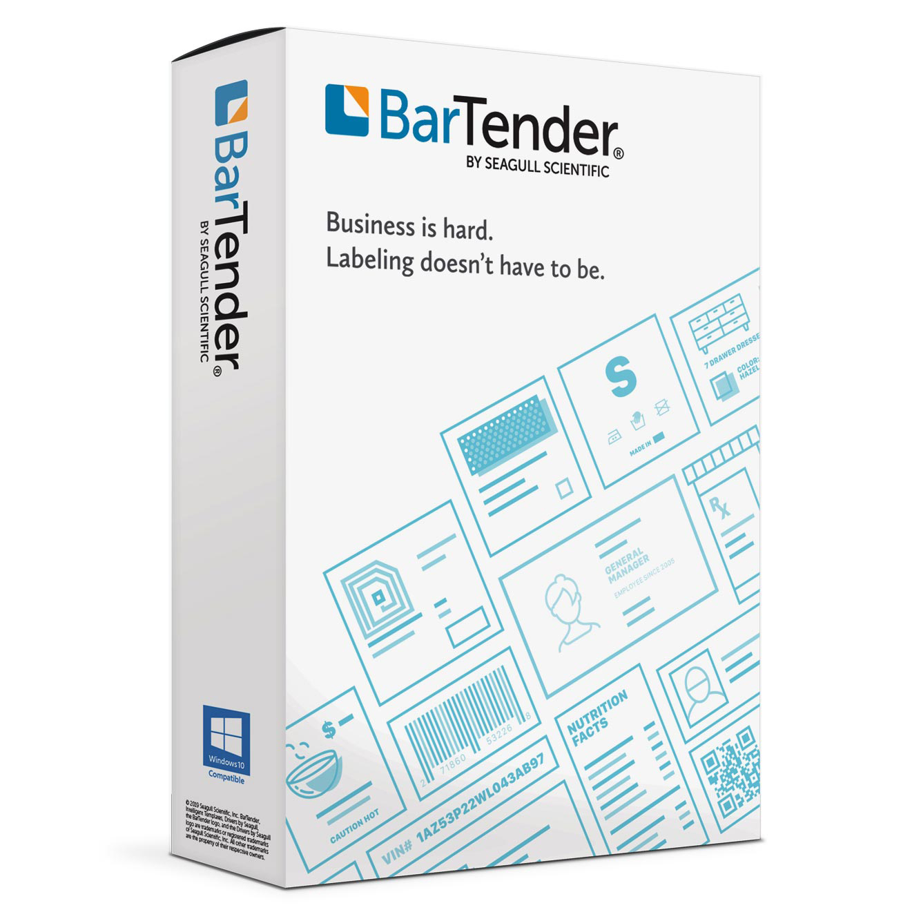 BarTender Starter Edition Software BTS-1