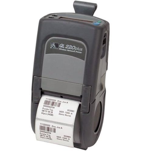 Zebra QL220 Plus Portable Printer Q2D-LUBD0000-00