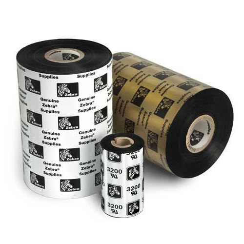 Zebra Thermal Transfer Wax Ribbon 06000GS06407-R