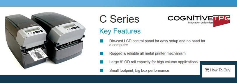 cognitive c series printer