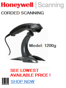 honeywell 1200g scanner