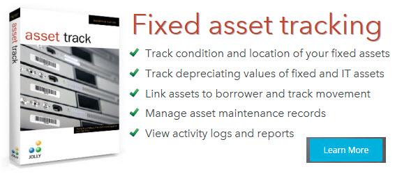 jolly technologies asset tracking software