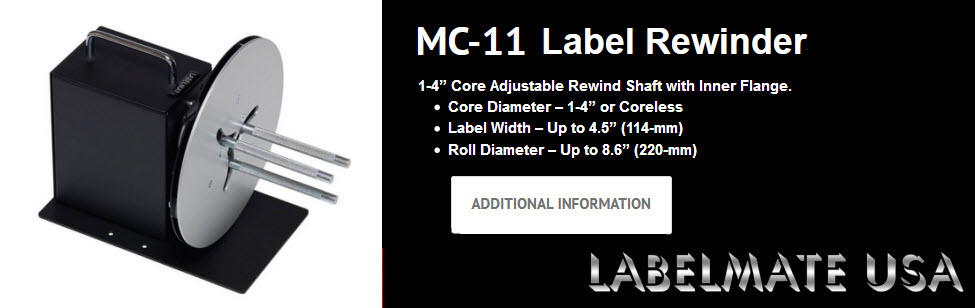 labelmate mc-11 rewinder