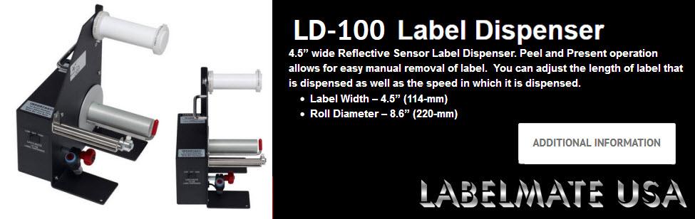 labelmate ld-100 label dispenser