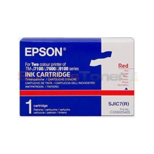 Epson Red Ink Cartridge C33S020405