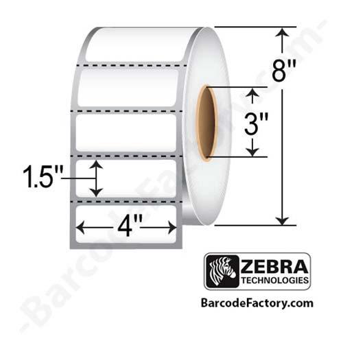 Zebra 4x1.5 Z-Select 4000D 10015348