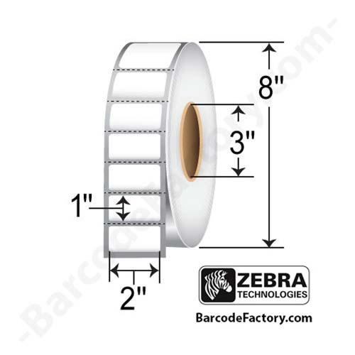 Zebra 2x1 PolyPro 4000T (10014716) 10014716