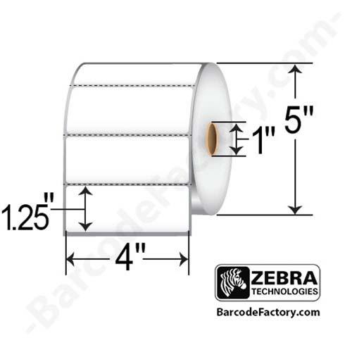 Zebra 4x1.25 Z-Select 4000D 10015349