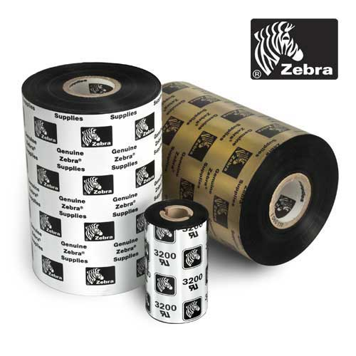 Zebra 2.5x244ft Resin Thermal Ribbon