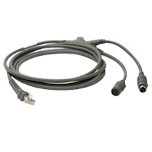Zebra 7 Foot Keyboard Wedge Cable CBA-K01-S07PAR