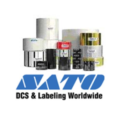 Sato 2x2-inch, Direct Thermal Label52S012026