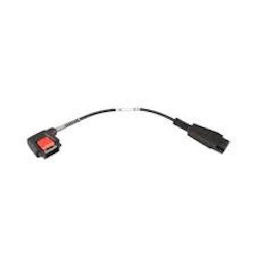Zebra Audio Adapter Cable (Short) CBL-NGWT-AUQDST-01
