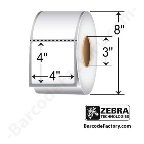 Zebra 4x4 Label (Z-Perform 2000T) 10000283