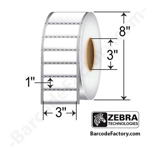 Zebra 3x1 Z-Perform 1000D 10000303