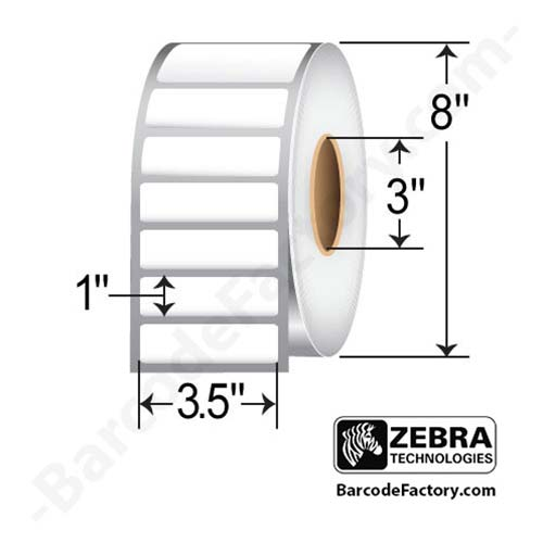 Zebra 3.5x1 Z-Ultimate 3000T White 10011705