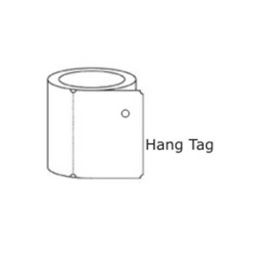 Cognitive 2.4 x 1 Thermal Transfer Tags03-02-1664