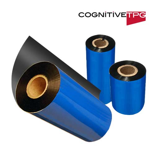Cognitive 2.4 x 263ft Black Premium Wax Ribbon04-00-0031-01