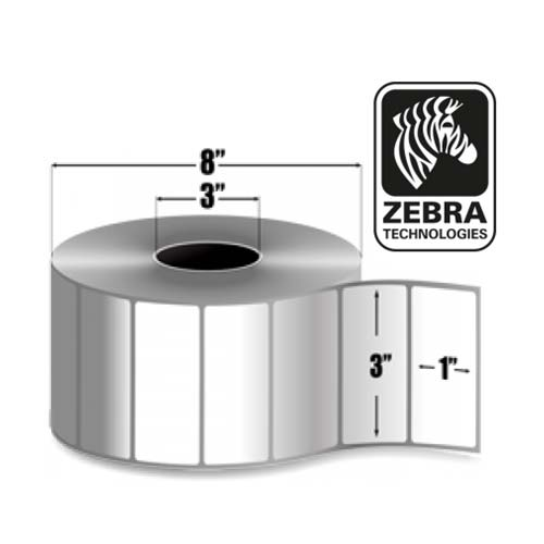 Zebra 3x1 Z-Ultimate 4000T High tack White 10014014