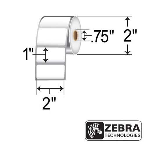 Zebra 2x1 (0.75ID, 2in OD)