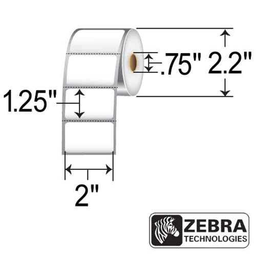 Zebra 2x1.25 (0.75ID, 2.2in OD)
