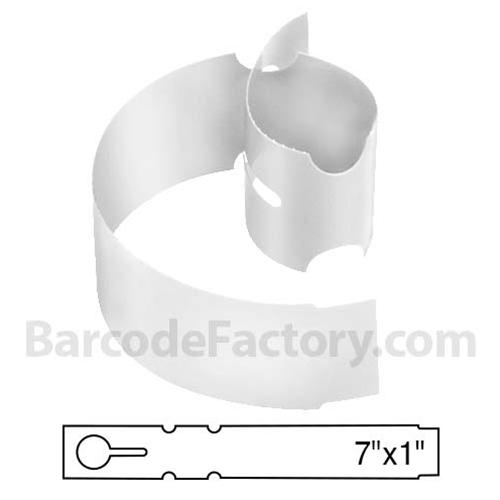 White Wrap Tags BAR-WP7X1-WH