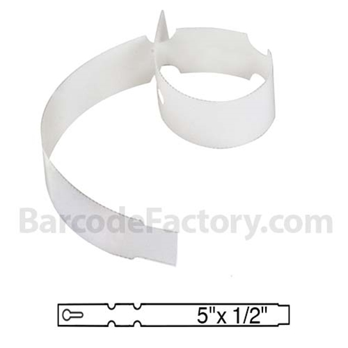 White Wrap Tags BAR-WP5X05-WH