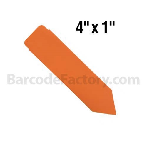 Plastic Pot Stakes BAR-SS4X1-OR