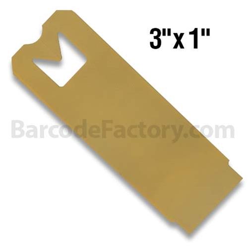 Thermal Hang Tags BAR-HS3X1-TN