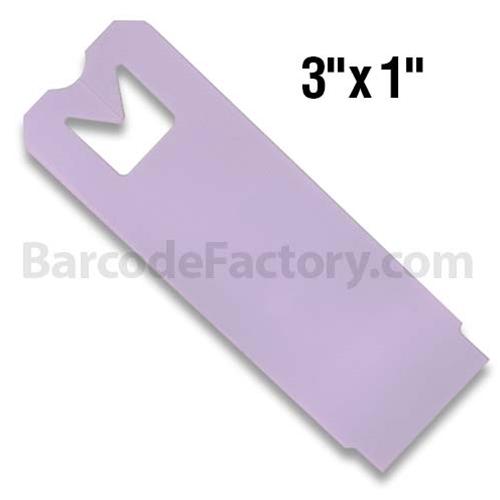 Thermal Hang Tags BAR-HS3X1-LA