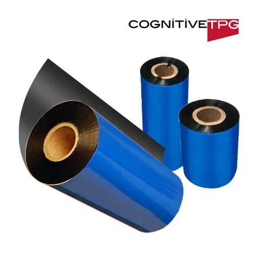 Cognitive 2.4in x 667ft Premium Wax ribbon - Blazer Printers04-89-1101