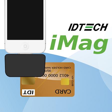 ID Tech iMag Card Reader ID-80097004-001-KT1