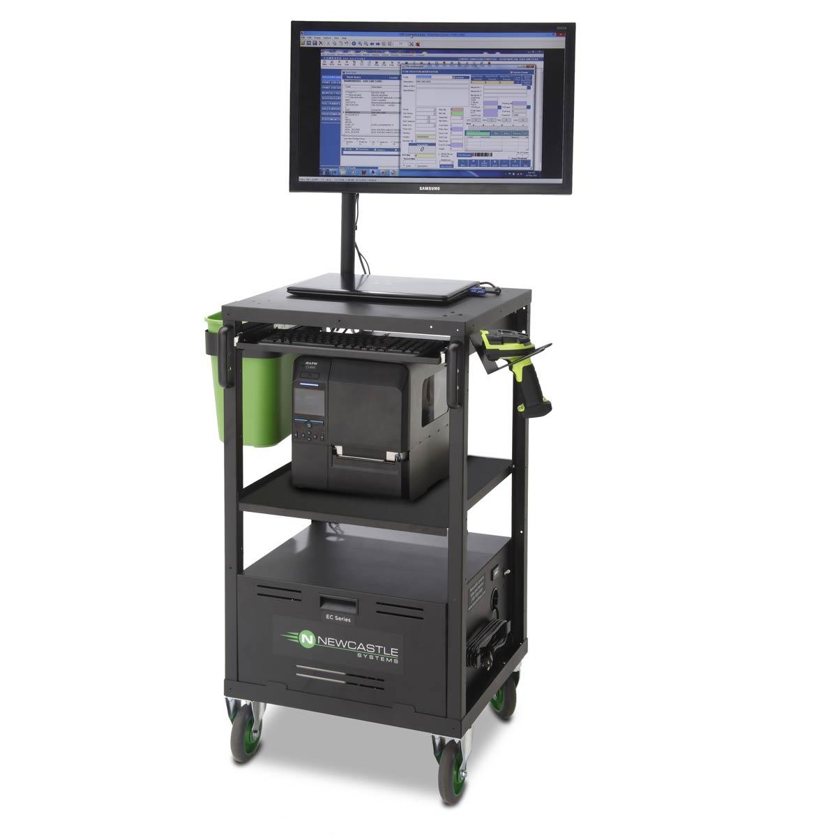 NewCastle EcoCart Mobile Workstation EC380