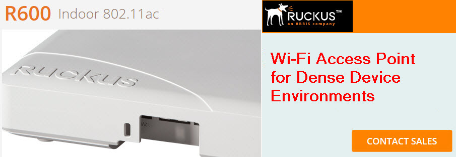 ruckus r600 wireless access point