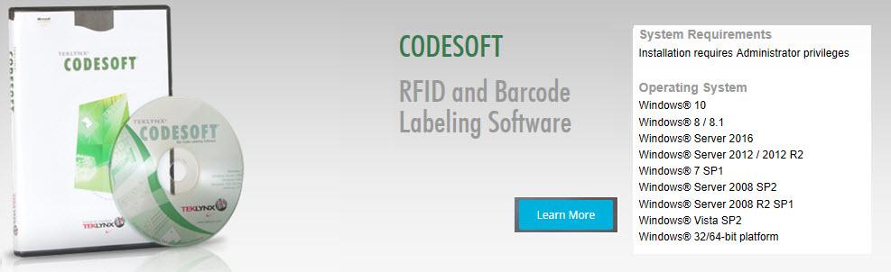 teklynx codesoft software