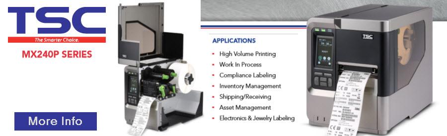 tsc mx240p industrial printer