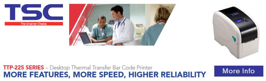 tsc ttp-225 series desktop printer