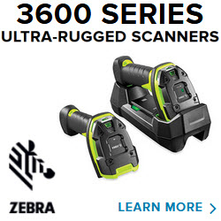 zebra 3600 series industrial scanners