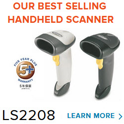 best selling zebra scanner