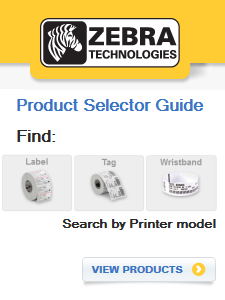 zebra product selector guide