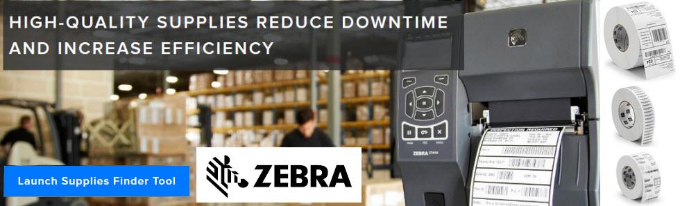 zebra printer supplies